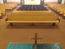 Church Pews - During 3